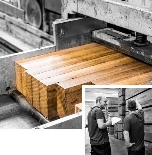 Werken met hout